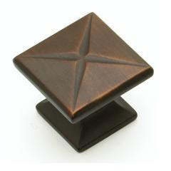 Knob Square - Ancient Bronze SH215-ABZ (SH215-ABZ)