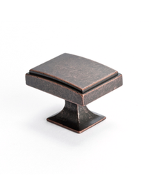 Knob Square - Weathered Verona Bronze BE4085-1WVB-P (BE4085-1WVB-P)