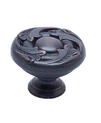 "Knob Vine Design 1-1/4"" Verona Bronze BE1635-1VB-P (BE1635-1VB-P)"