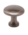 "Knob W/Ring 1-1/8"" Brushed Nickel BE9924-1BPN-P (BE9924-1BPN-P)"