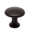 "Knob W/Ring 1-1/8"" Rubbed Bronze BE9923-110-P (BE9923-110-P)"