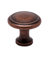 """Knob W/Ring 1-1/8"""" Weathered Copper BE9925-1WC-P (BE9925-1WC-P)"""