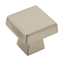 "1 1/2"" Oversized Square Knob Blackrock (55273) (AM55273)