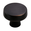 "1 3/4"" Oversized Knob Blackrock (55272) (AM55272)