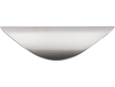 "1 1/4"" Cup Pull - Brushed Satin Nickel TKM412"