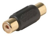 RCA Jack to RCA Jack Adapter, Gold