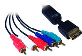 5-Feet PlayStation Component Video and RCA Stereo Audio HD Cable, 3 Component RCA Video Male and 2 Audio RCA Male
