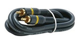 3-Feet 1-RCA Audio/Video Cable, Black