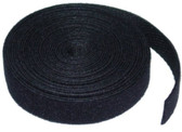 Hook and Loop Cable Tie Roll, 3/4 inch, 5 yards