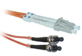 LC/ST 4-Meters Multimode Duplex Fiber Optic Cable 62.5/125, (CNE73316)