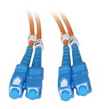 SC/SC 1-Meter Multimode Duplex Fiber Optic Cable 62.5/125