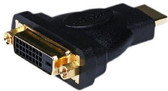 DVI Female to HDMI Male Adapter, Gold