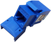 CAT5E Keystone Jack - Blue (CNE75709)