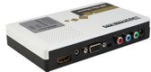 Component Video-YPbPr /VGA to HDMI Converter with Auto Up-Scale