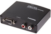 HDMI to VGA converter with R/L Audio Converter