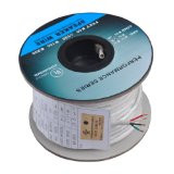 100 Feet 18AWG CL2 Rated 4-Conductor Loud Speaker Cable (For In-Wall Installation)