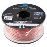 (100 Feet) 12AWG Enhanced Loud Oxygen-Free Copper Speaker Wire Cable (Copper)