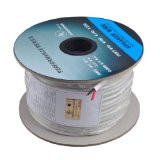 250 Feet 16AWG CL2 Rated 2-Conductor Loud Speaker Cable (For In-Wall Installation)