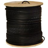 1000 feet 18AWG Quad Shield CCS RG6 60% Coaxial Cable