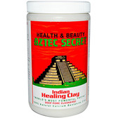 AZTEC SECRET INDIAN HEALING CLAY is bentonite clay from Death Valley, California, where it is sun- dried for up to six months in temperatures that sometimes reach 134 degrees. Deep pore cleaning with 100% natural calcium bentonite clay Does not contain: Additives, fragrances, animal products Important Note: Do not leave clay mask on skin longer than 5-10 mins for delicate skin; this will prevent redness/drying Important Note 2: Please read and follow all manufacturer directions before using. Slight redness of the skin is normal and will disappear in about 30 minutes after use. Use for acne and blemishes. Use it once per week.