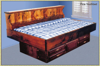 Youth Waterbed Hardside Youthbed