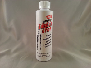 Sleep better and end bubbles with this Bulle-stop solution for your hardside waterbed or softside waterbed.