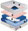 Cashmere Mid Fill 12 inch softside waterbed mattress Waveless Mattress