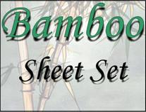 London Bridge Linens Bamboo T-300 Waterbed Sheet Set|london bridge linens, t300, bamboo, sheet sets