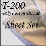 London Bridge Linens T-200 Conventional Sheet Set|london bridge linens, t200, conventional, sheet sets