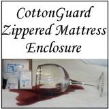 London Bridge Linens CottonGuard Zippered Mattress Enclosure|london bridge linens, cottonguard, mattress protectors, zippered mattress enclosure