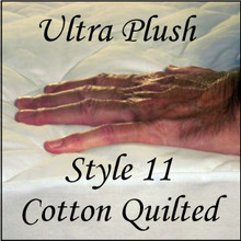 London Bridge Linens Style 11 Ultra Plush Cotton Pad Big Band Style|london bridge linens, style 11, mattress pad, cotton