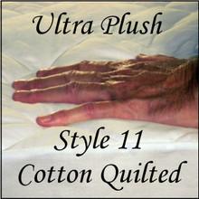 London Bridge Linens Style 11 Ultra Plush Cotton Pad Contour Fitted Style|london bridge linens, style 11, mattress pad, contour fitted style