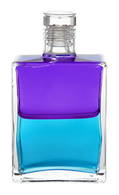 B24 - A New Message Violet / Turquoise