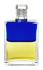 B47 - The Old Soul Bottle Royal Blue / Lemon