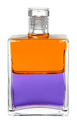 B79 - Ostrich Bottle Orange / Violet