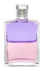 B98 - Archangel Sandalphon / Margaret's bottle Lilac / Pale Coral