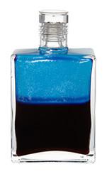 B107 - Archangel Tzaphkiel Opalescent Turquoise / Deep Magenta