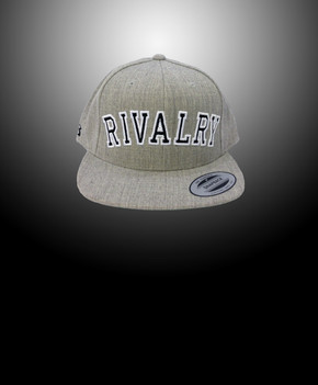 Rivalry Arch Snapback (Heather Gray)