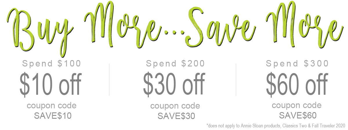 Buy More Save More $10, $30 & $60
