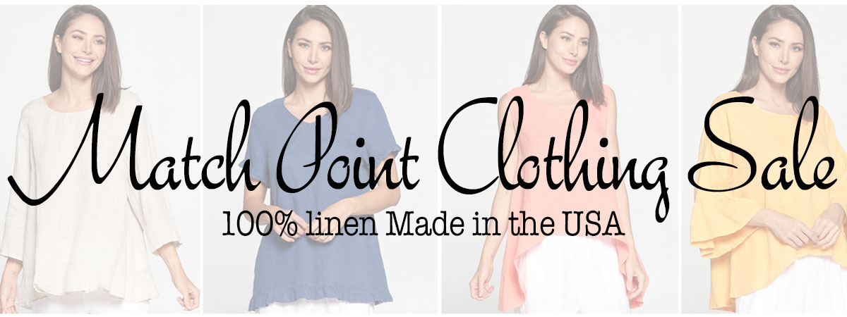 Match Point Clothing Sale