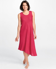 FLAX Bias Tank Dress (rouge)