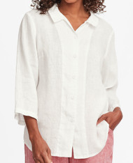 FLAX In-Line Blouse