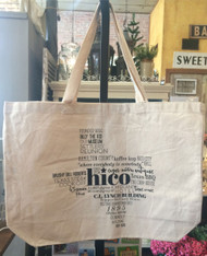 Hico Canvas Tote Bag
