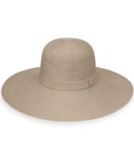 Aria Wallaroo Hat in taupe