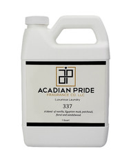 Acadian Pride Fragrance co. 337 Luxurious Laundry Detergent - Quart