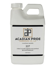 Acadian Pride Fragrance co. 337 Luxurious Laundry Detergent - 1/2 Gallon
