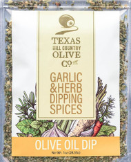 Texas Hill Country Olive Co Garlic and Herb Dipping Spices