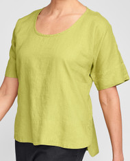 FLAX Summer Solstice 2021 Sage Top