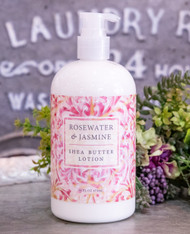 Greenwich Bay Trading Co. Rosewater and Jasmine Shea Butter Lotion