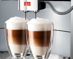 Melitta Caffeo Barista TS double cappuccino